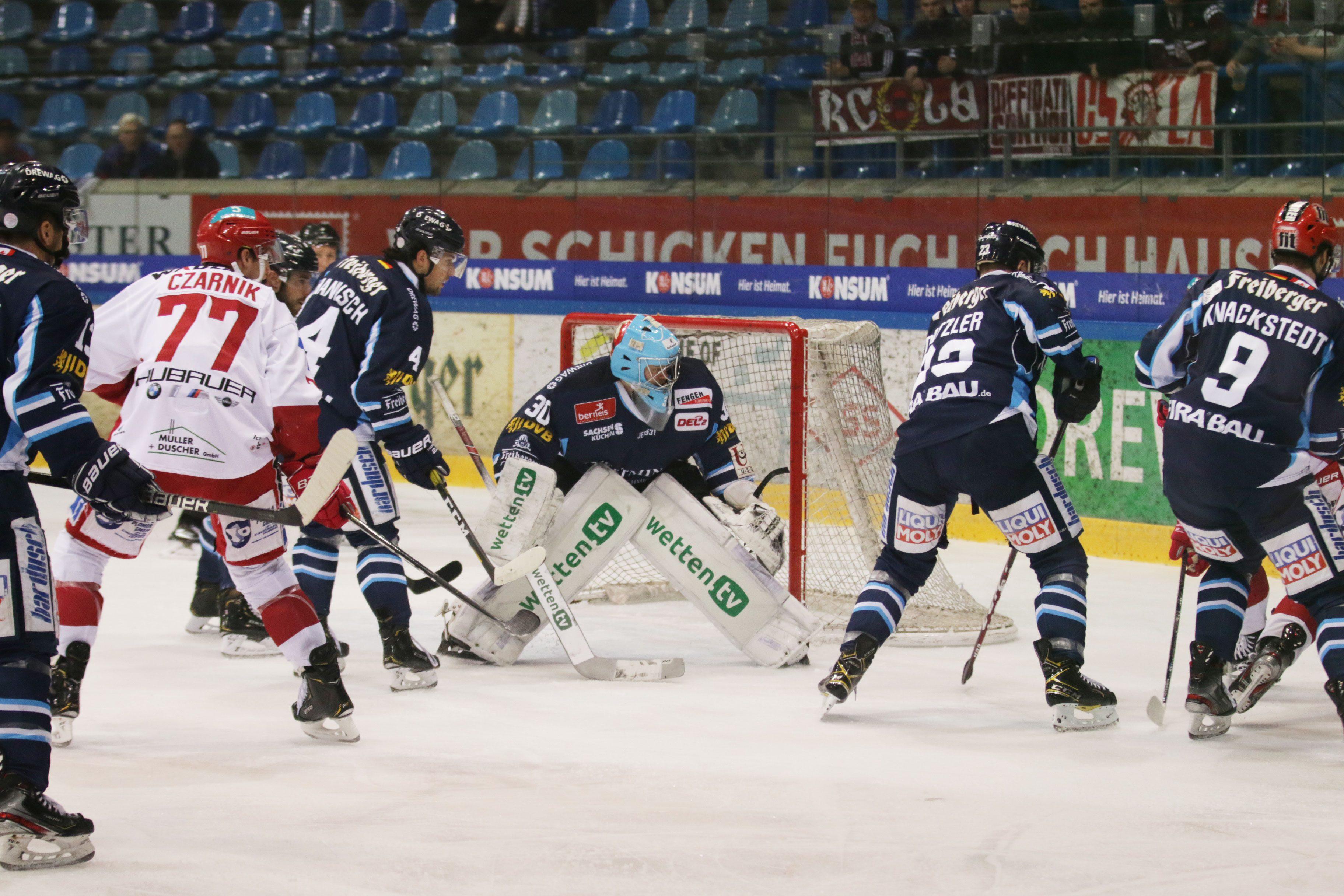 Eislöwen gewinnen gegen Landshut
